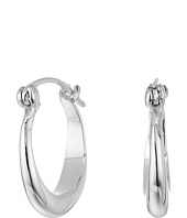 Shinola Detroit - Sterling Silver Small Crescent Hoop Earrings