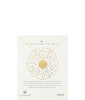 Dogeared - New Beginnings Mandala Center Star Necklace