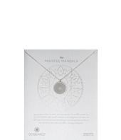 Dogeared - Mindful Mandala Center Square Necklace