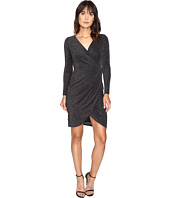 CATHERINE Catherine Malandrino - Long Sleeve Wrap Dress