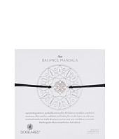 Dogeared - Balance Mandala Center Circle Silk Bracelet