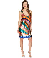 Just Cavalli - Shimmer Sleeveless Short Swing Dress