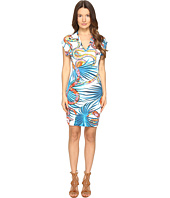 Just Cavalli - Temptation Printed Short Sleeve Dress
