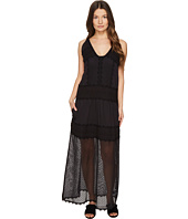 Just Cavalli - Sleeveless Long Lace Sheer Dress