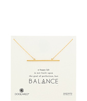 Dogeared - Balance Large Straight Bar Necklace