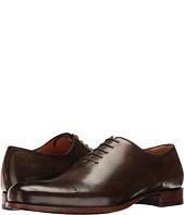 a. testoni - Delave Calf Perforated Toe Uniform Oxford