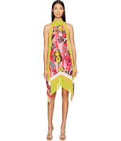 Versace Collection - Woven High Neck Dress