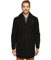 IZOD - Walker Coat with Quilted Dobby