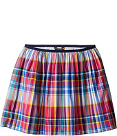 Polo Ralph Lauren Kids - Yarn-Dyed Poplin Plaid Skirt (Little Kids/Big Kids)