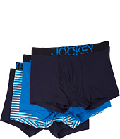 Jockey - Active Stretch Bonus Pack Boxer Brief (3-Pack + 1 Free)