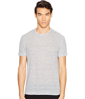 ATM Anthony Thomas Melillo - Striped Linen Relaxed Fit Crew