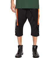 D.GNAK - Side Tapes Cropped Pants