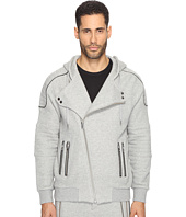 The Kooples - Sport Fleece Hoodie with Zippers