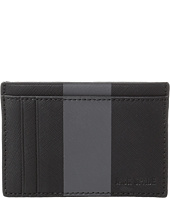 Jack Spade - Striped Barrow Leather ID Wallet