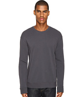 Vince - Side Zip Long Sleeve Crew Neck Sweater