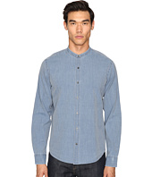 Vince - Frayed Stand-Up Collar Shirt