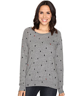 Alternative - Printed Slouchy Pullover