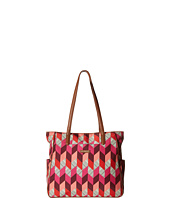 Vera Bradley - Preppy Poly Zip Top Tote