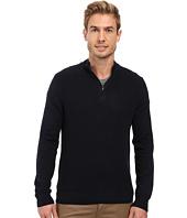 Perry Ellis - Color Block 1/4 Zip Sweater