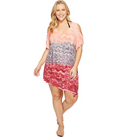 BECCA by Rebecca Virtue - Plus Size Cosmic Tunic Cover-Up