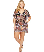 BECCA by Rebecca Virtue - Plus Size Havana Tunic Cover-Up