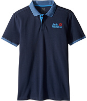 Jack Wolfskin Kids - Pique Polo (Little Kids/Big Kids)