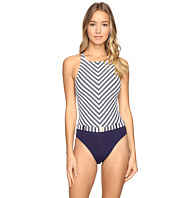 Bleu Rod Beattie - Cruise Control High Neck X-Back Mio One-Piece