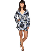 Red Carter - Indigo Blues Rayon Tunic Cover-Up