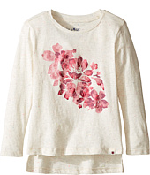 Lucky Brand Kids - Pullover Tee with Floral Screen Print (Toddler)