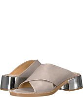 MM6 Maison Margiela - Metallic Wide Heel Mule
