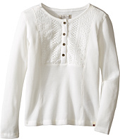 Lucky Brand Kids - Long Sleeve Thermal Top with Embroidery (Little Kids)