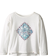 Lucky Brand Kids - Long Sleeve Tee with Water Color Graphic Shirt (Toddler)