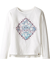 Lucky Brand Kids - Long Sleeve Tee with Water Color Graphic Shirt (Little Kids)
