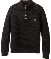 Lucky Brand Kids - Basket Weave with Button Front Sweater (Little Kids/Big Kids)