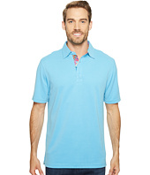 BUGATCHI - F6 Short Sleeve Three-Button Shirt