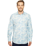 BUGATCHI - Long Sleeve Classic Fit Point Collar Shirt