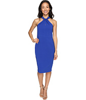 Christin Michaels - Amal Crepe Halter Dress