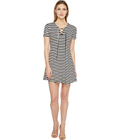 Culture Phit - Merrin Short Sleeve Tie-Front Dress