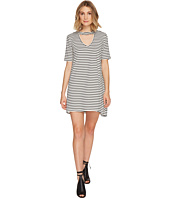 Culture Phit - Marion Striped Keyhole Dress