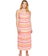 LAUREN Ralph Lauren - Plus Size Striped Maxi Gown