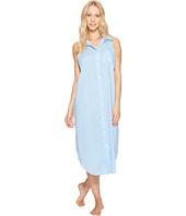 LAUREN Ralph Lauren - Cotton Rayon Lawn Sleeveless Gown
