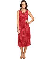Brigitte Bailey - Odessa Tie-Front Sleeveless Dress with Ruffle