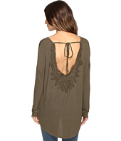Brigitte Bailey - Diara Long Sleeve Top with Open Back