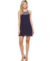 Brigitte Bailey - Sondra Embroidered Spaghetti Strap Dress