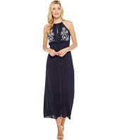 Brigitte Bailey - Samara Halter Maxi Dress with Embroidery