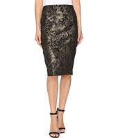 Calvin Klein - Metallic Rose Pencil Skirt