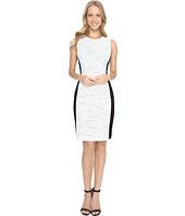 Calvin Klein - Tweed Jacquard Sheath Dress