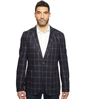 Kroon - White Modern Fit Two-Button Traveler Blazer