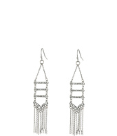 Rebecca Minkoff - Pave + Fringe Chandelier Earrings