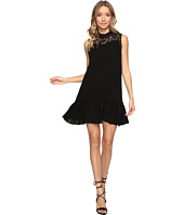 Jack by BB Dakota - Barnes Slub Gauze Lace Dress with Ribbon Trim